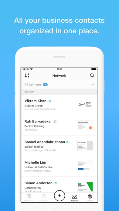 Appapp eight manage business cards iphone screenshots colourmoves
