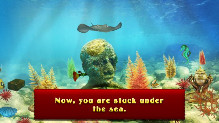 Can You Escape From The Sea ?