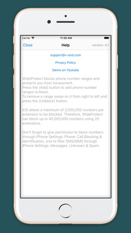 WideProtect Spam Call Blocker screenshot-4