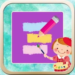 Kids Coloring Zoo Paint Tool