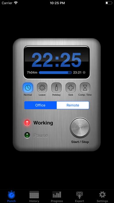 Screenshot for Übertime in Egypt App Store