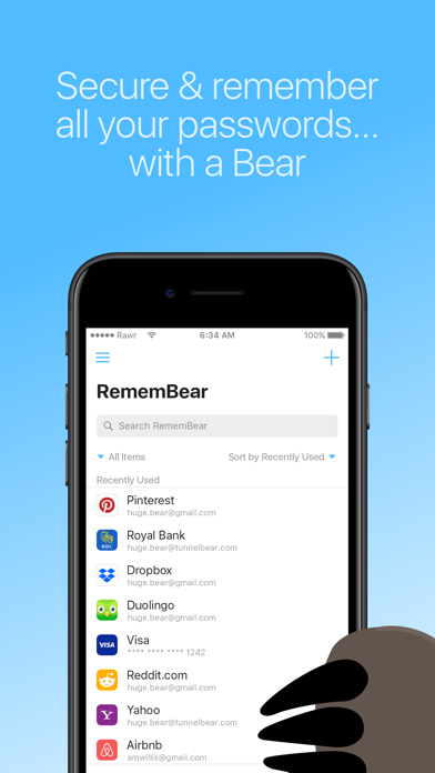 download RememBear: Password Manager apps 1