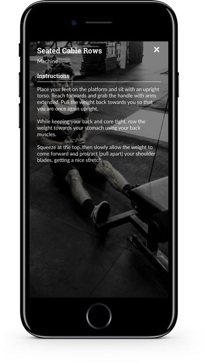 Iron Training screenshot-4