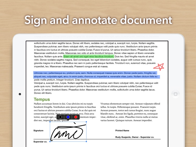 Doc Scan HD - PDF document scanner app