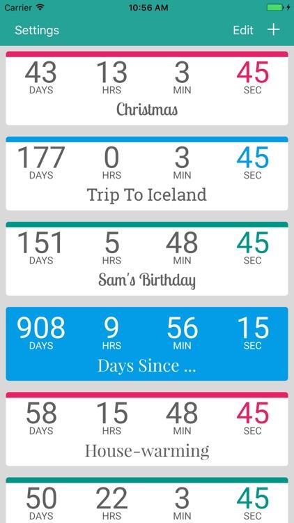 Countdown by timeanddate.com screenshot-4