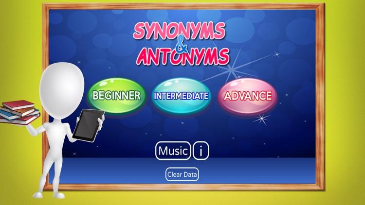 Vocabulary Synonyms & Antonyms