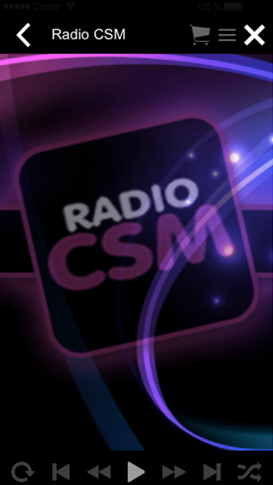Radio CSM screenshot two