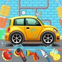 Car Wash Garage Service Clean