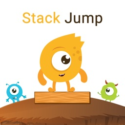 Stack jump over the blocks