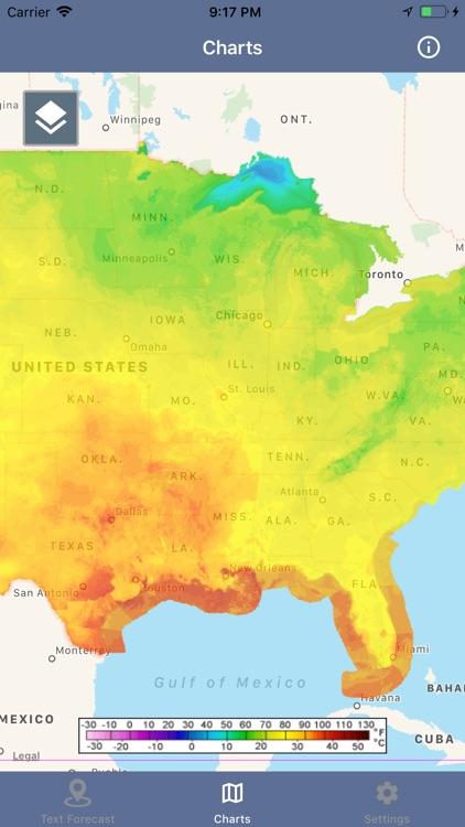 National Weather Forecast Data screenshot-5