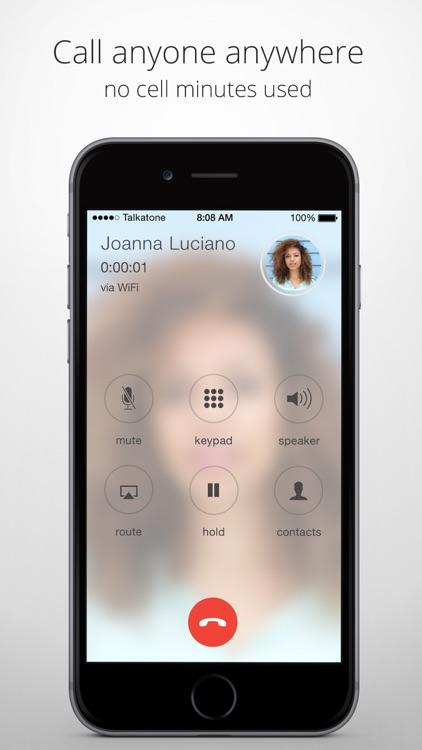 Talkatone: WiFi Text & Calls