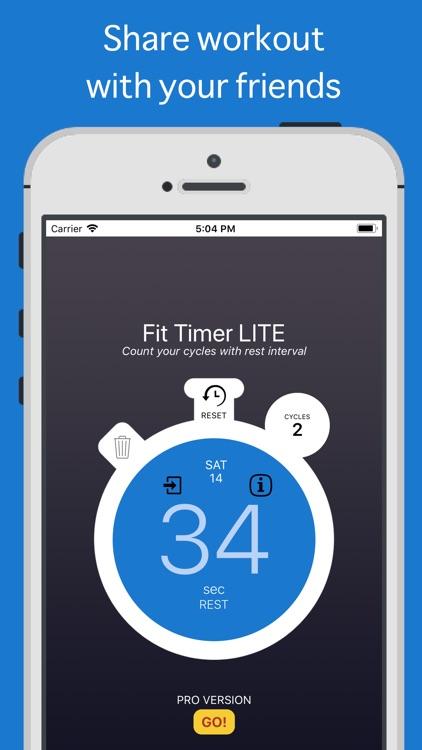 Fit Timer LITE screenshot-3