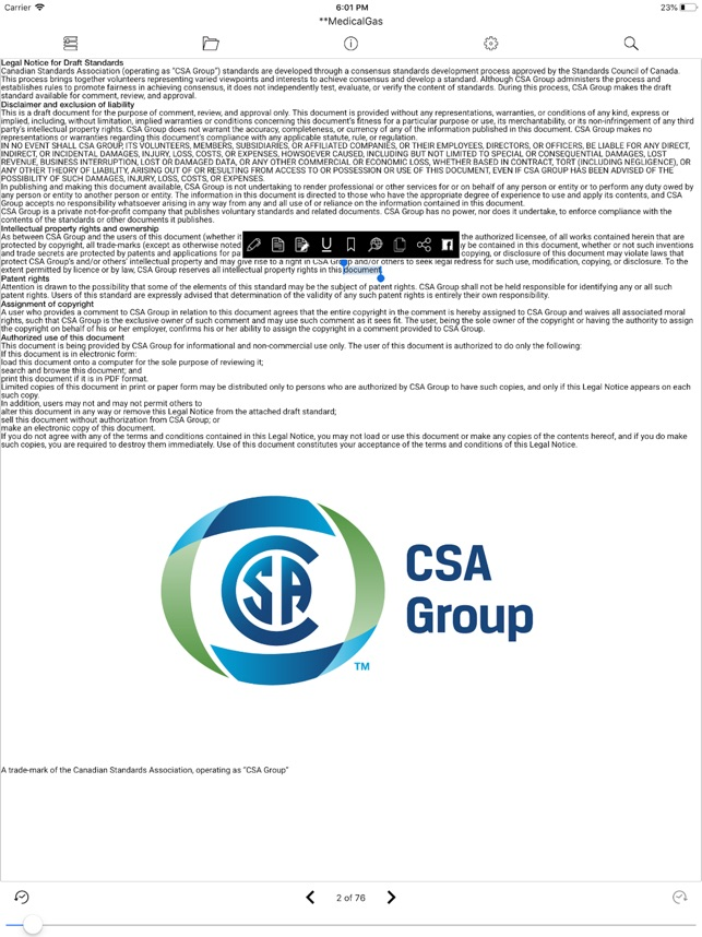 CSA Reader on the App Store