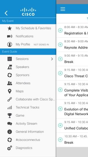 Cisco Events App na App Store
