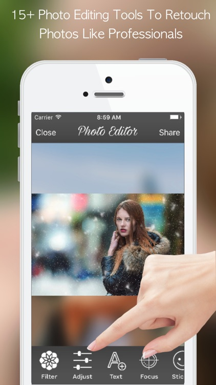 PicZone:Photo Editor & Sticker screenshot-3