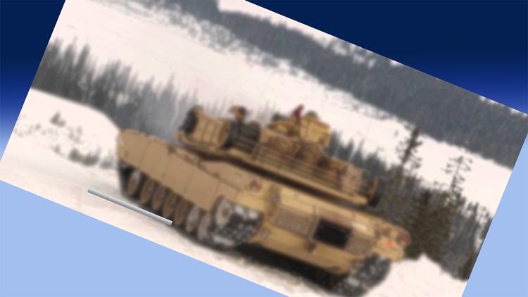 3D Army tank transport