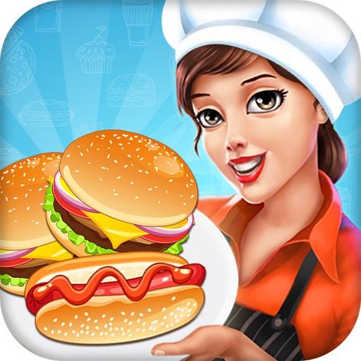 Burger Hotdog  Fever - Restaurant Simulation Game iOS App