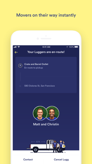 lugg movers app