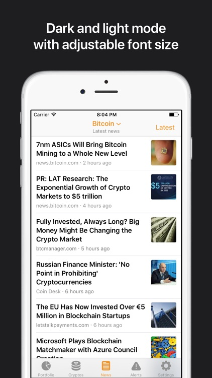 Crypto Pro: Bitcoin Ticker screenshot-5