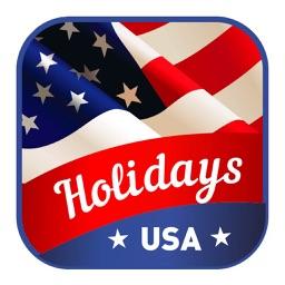 Holidays USA sticker pack