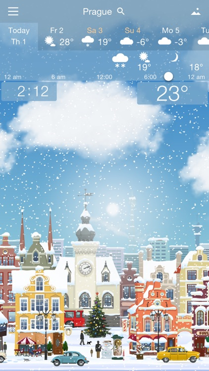 Awesome Weather YoWindow screenshot-3