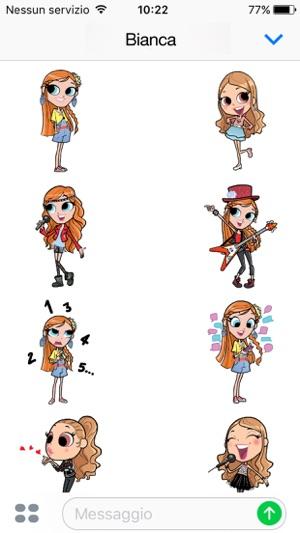 Maggie Bianca Fashion Friends Stickers Im App Store