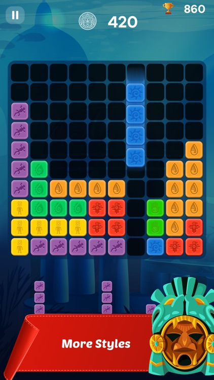 Maya Block Puzzle Game screenshot-3