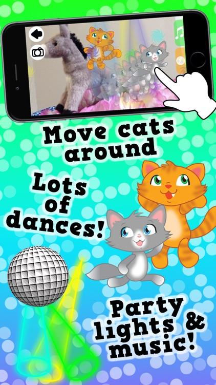 Disco Cats Augmented Reality screenshot-4