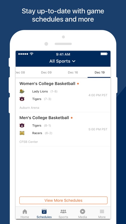 Auburn Athletics screenshot-2