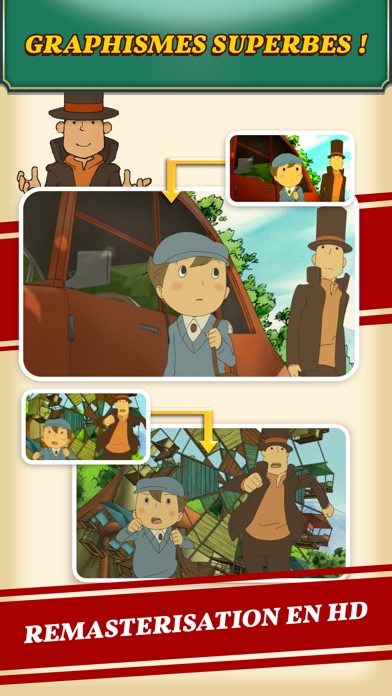 Screenshot for Layton : l'étrange village HD in France App Store