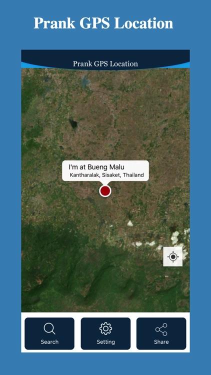 Prank GPS Location screenshot-3