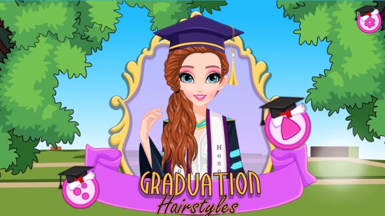 安吉拉头发沙龙:毕业