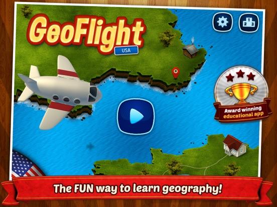 GeoFlight USA Pro Screenshots