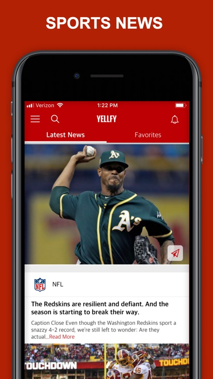 Yellfy Sports: Scores & News screenshot-0
