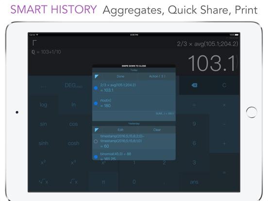 CALC Swift Screenshots