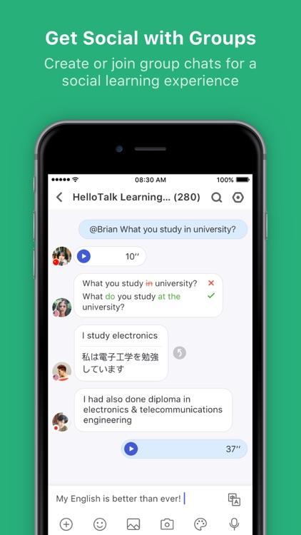 HelloTalk Learn Languages Fast screenshot-4