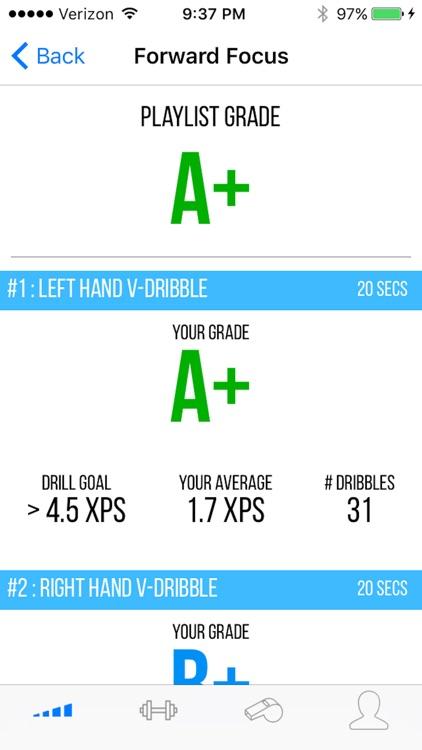 DribbleUp Interactive Basketball Training & Drills screenshot-4