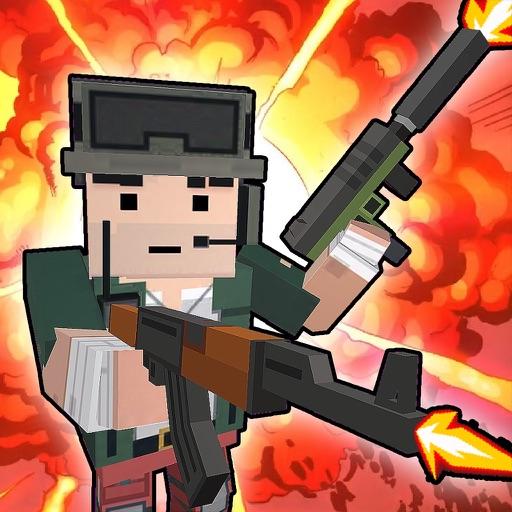 Blocky War - Cube City Defense