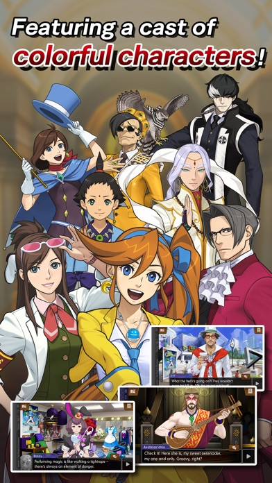 Скриншот Ace Attorney Spirit of Justice