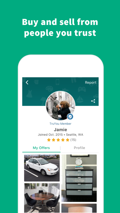 Screenshot 3 for OfferUp's iPhone app'