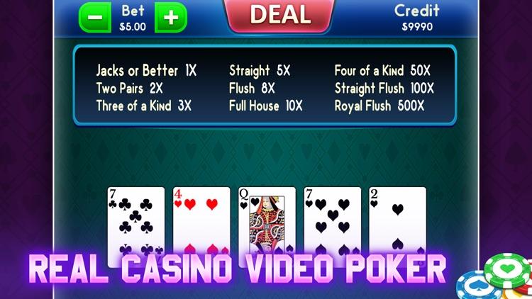 Video Poker: Fun Casino Game screenshot-4