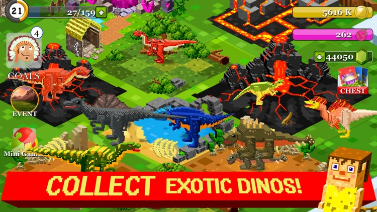 Jurassic Pixel Dinosaur Craft by Free Pixel Games Ltd
