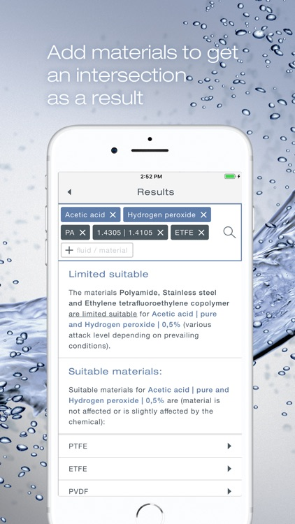Bürkert resistApp screenshot-4