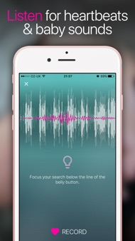Hear My Baby Heartbeat App iphone images