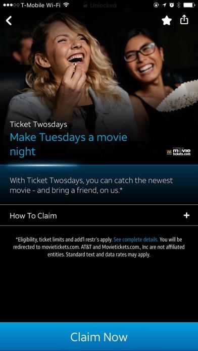 AT&T THANKS® screenshot 3