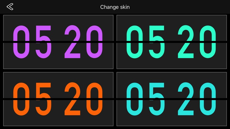 Flip Clock Pro - digital clock screenshot-1