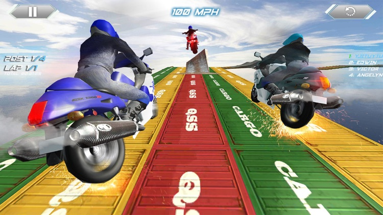 Impossible Track Motor Bike Rider: Stunt Man Race screenshot-3
