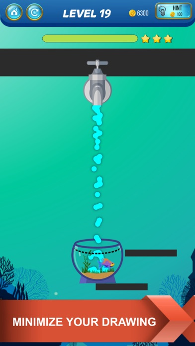 Screenshot for Save The Fish - Physics Puzzle in Ireland App Store