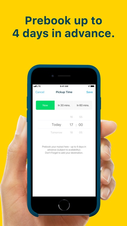 mytaxi: Tap & Move Freely screenshot-6