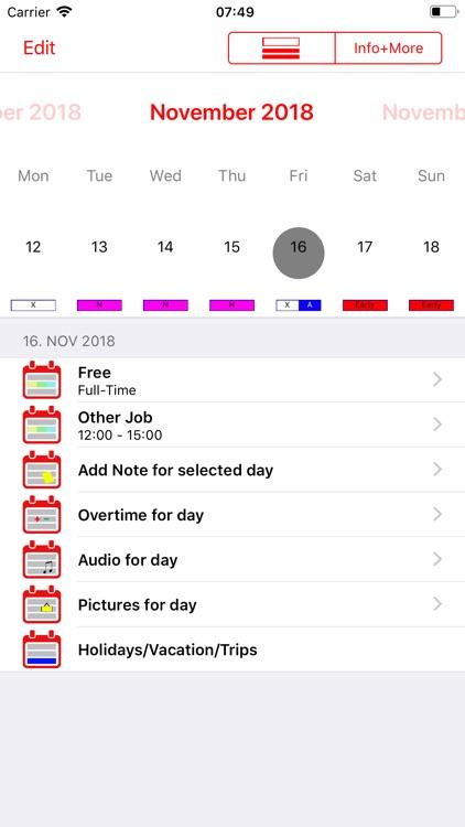 Roster-Calendar screenshot-4